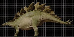 They misspell Stegosaurus, but they can spell Metriacanthosaurus just fine.