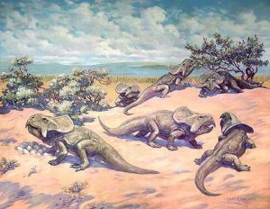 Knight Protoceratops