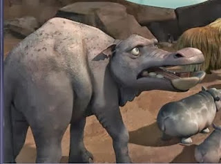 Platybelodon Ice Age Elephant Ancestor Bio Day